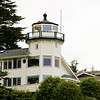 Oregon Coast - Brookings, Pelican Bay Lighthouse (Private) : The Pelican Bay Lighthouse located just North of the border of California and Oregon in the Pelican Bay. It is privately owned and not open to the public.